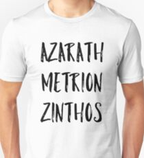 Azarath Metrion Zinthos (Alternate) T-Shirt