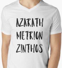 Azarath Metrion Zinthos (Alternativ) T-Shirt mit V-Ausschnitt
