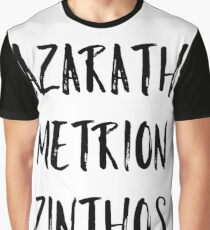 Azarath Metrion Zinthos (Alternate) Graphic T-Shirt
