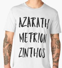Azarath Metrion Zinthos (Alternate) Men's Premium T-Shirt
