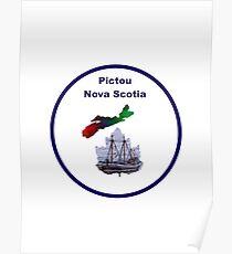Pictou Nova Scotia Design Poster