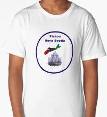 Pictou Nova Scotia Design Long T-Shirt