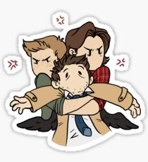 Hands off our Angel! Sticker