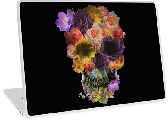 Skull Flower by Jazyy