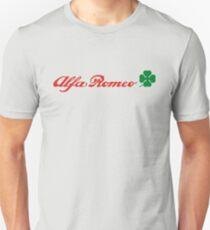 Alfa Romeo Quadrifoglio (red) T-Shirt