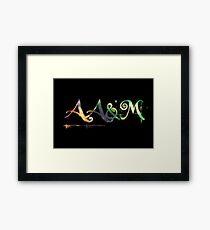 AA&M Logo Framed Print