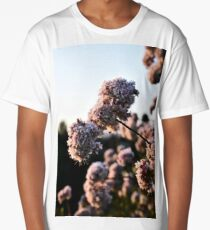 Cherry-Stained Flowers Long T-Shirt