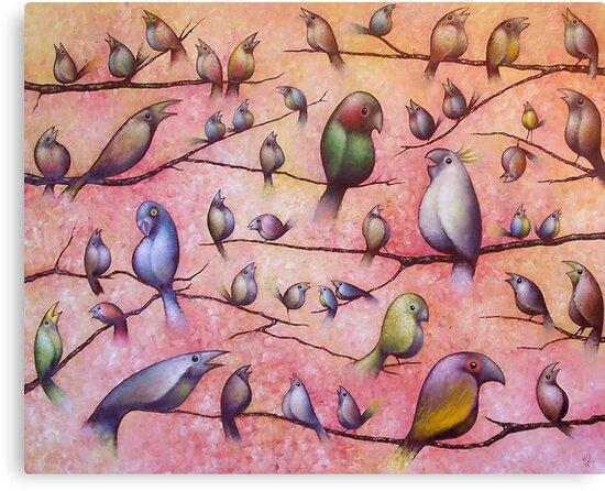 Bird Song by Karsten Stier