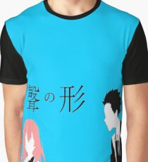 A Silent Voice - Shoko and Shoya Graphic T-Shirt