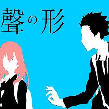 A Silent Voice - Shoko and Shoya by OtakuPapercraft