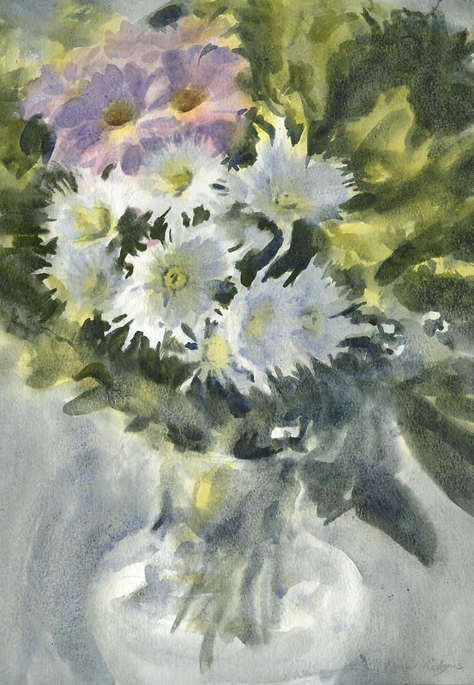 Chrysanthemums by Daniel Rodgers