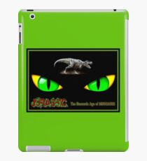 JURASSIC MESOZOIC: Age of Dinosaurs Abstract Print iPad Case/Skin
