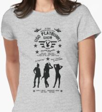 Apocalypse Now - USO Playbunny Show HD Army Edition Womens Fitted T-Shirt