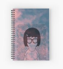 Tina In The Sky Spiral Notebook
