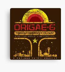 Origae-6 Canvas Print