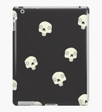 Cute Sugar Skull Black iPad Case/Skin