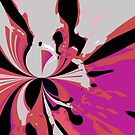 Purple splash by Loredana Messina