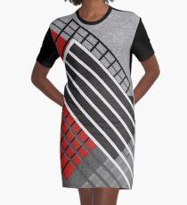 Constructivism Graphic T-Shirt Dress