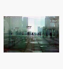 Paris Glass Photographic Print