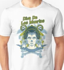 Diva de los Muertos Unisex T-Shirt