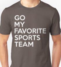 Go My Favorite Sports Team T-Shirt