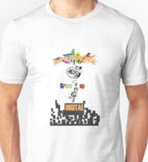 Born analogic grow up digital. Unisex T-Shirt