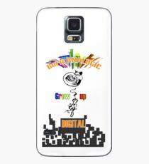 Born analogic grow up digital. Case/Skin for Samsung Galaxy