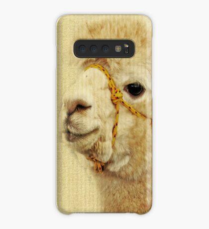 Porträt von zwei Alpakas Hülle & Klebefolie für Samsung Galaxy
