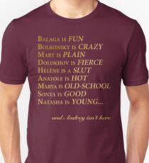 Great Comet Prologue Unisex T-Shirt