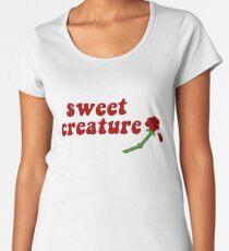 Sweet Creature Rose Design Women's Premium T-Shirt
