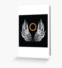 Angel Halo Greeting Card