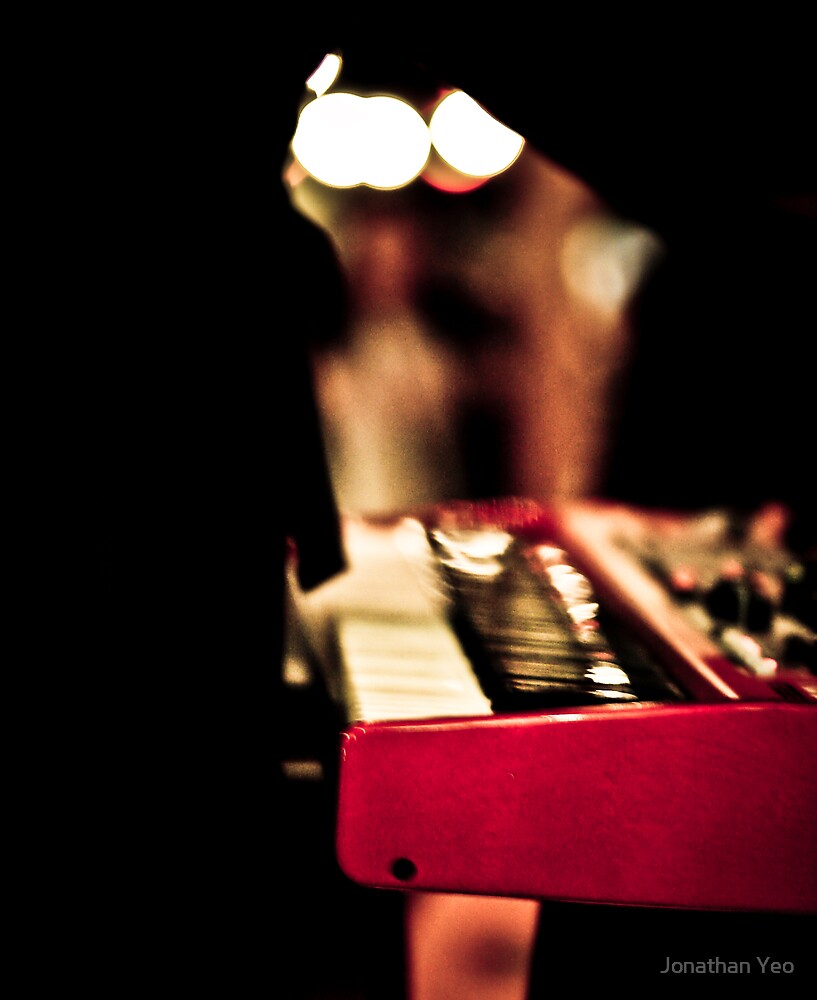 Red Piano by Jonathan Yeo