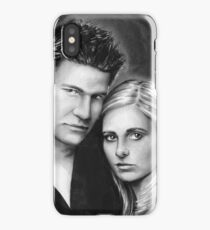 buffy and angel iPhone Case/Skin
