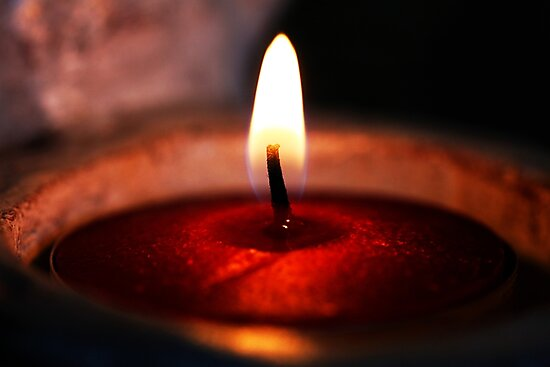 Candle Burning - Desire - by Evita