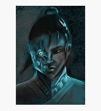 Cyber Samurai #2 Photographic Print