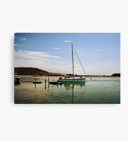 By The Sea Shore Canvas Print