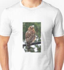 Red Shouldered HawK Unisex T-Shirt