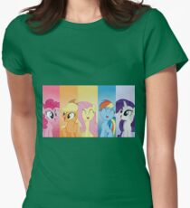 Happy Ponies Womens Fitted T-Shirt
