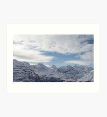 Swiss Alps (Number 2) Art Print