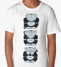 Three Wise Monkeys Long T-Shirt