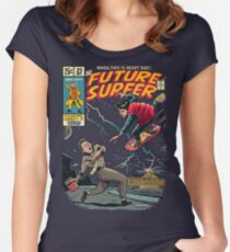 Future Surfer Women's Fitted Scoop T-Shirt