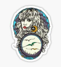 The 3 Birds of Rhiannon Sticker