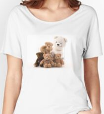 teddy bear family Women's Relaxed Fit T-Shirt