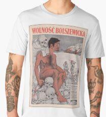 Vintage poster - Wolnosc Bolszewicka Men's Premium T-Shirt