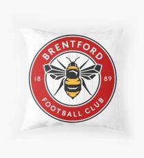 Brentford Football Club Throw Pillow