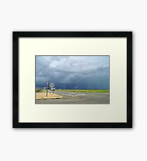 Dodged THAT Bullet! Framed Print