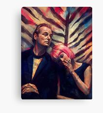 Distorted Lost in Translation Print Canvas Print