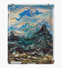 Contemporary impressionist landscape painting - Mountains iPad Case/Skin
