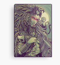 Vulture Queen Metal Print