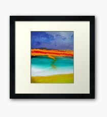 Sunset Memories Original Art Framed Print